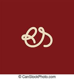 s, b, letra, sinal