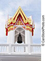 's, buddismo, campanile, tailandia
