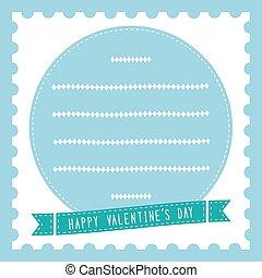 s, heureux, card19, jour, valentin