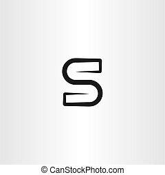 s logo icon sign vector