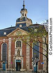 s., maximilian, iglesia, dusseldorf, alemania