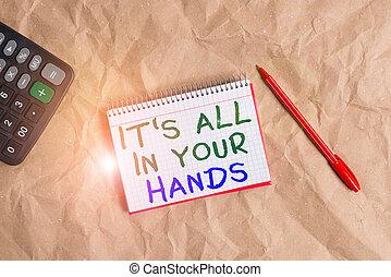 s, redine, carta, papercraft, tutto, noi, destino, nostro,...