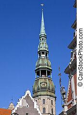 s., riga, peter, iglesia