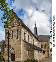 s., suitbertus, basílica, dusseldorf, alemania