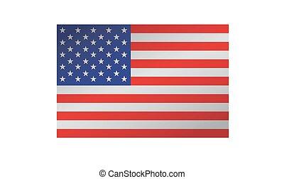 s, u., bandera