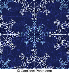 s_lace_blue2(19).jpg - Blue seamless lace pattern. Vector...