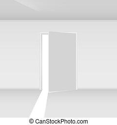 saída, porta