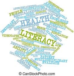 saúde, alfabetização