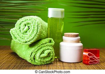 saúde, composição, spa