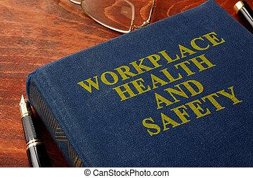 saúde, segurança, local trabalho, whs., título