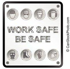 saúde segurança, sinal