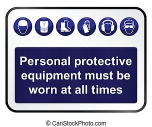 saúde, segurança, sinal