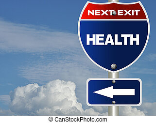 saúde, sinal estrada