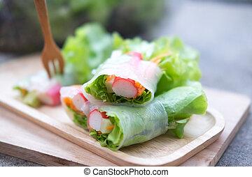 sałata, zdrowa dieta, jadło, kaloria, ewidencja