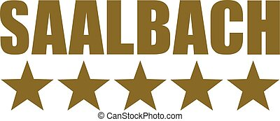 Saalbach with five stars