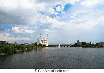 sabanci, adana, mezquita, centro