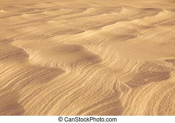 sabbia, deserto, superficie