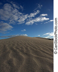 sabbia, increspature