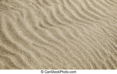 sabbia, onde