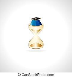 sabbia, orologio, concetto