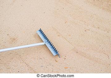 sabbia, pala
