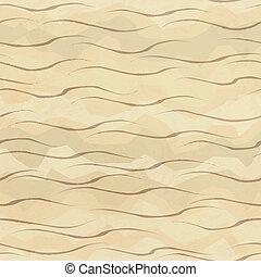sabbia, seamless, modello