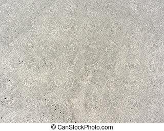 sabbia spiaggia, closeup, fondo, struttura