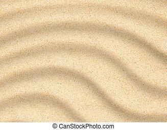 sabbia spiaggia, closeup, struttura