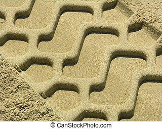 sabbia, traccia