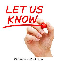 saber, nosotros, reacción, pregunta, concepto, dejar