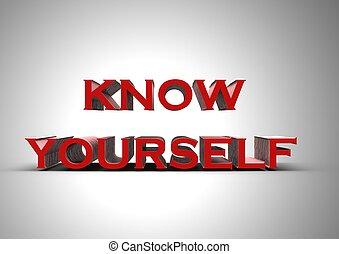 saber, usted mismo