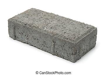 sable, brique, ciment