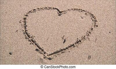 sable, dessin
