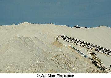 sable, frac, exploitation minière