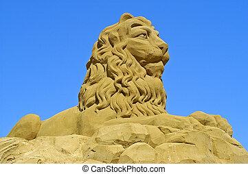 sable, france, exposition, sculptures, touquet