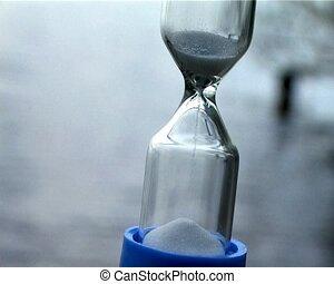 sable, horloge
