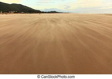 sable, orage