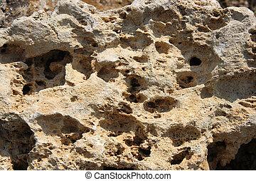 sable, pierre, vieux, texture