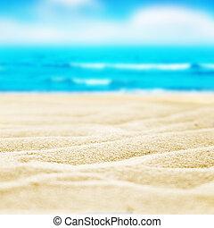 sable plage