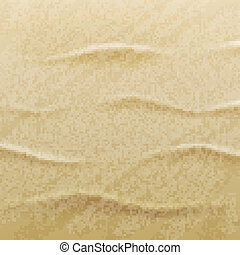 sable, vecteur, plage, fond