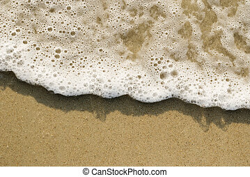 sable, waves.