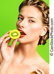 sabor, de, kiwi