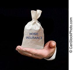 sac, à, assurance maison