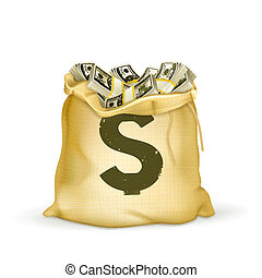 sac argent
