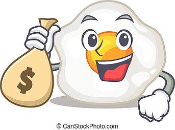 sac, célèbre, argent, caractère, tenue, oeuf, frit, riche, ...