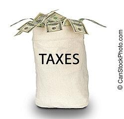 sac, impôts