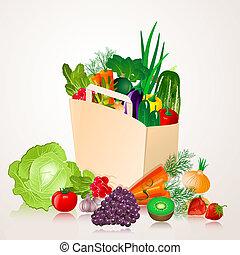 sac, Légumes