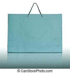 sac, papier, achats