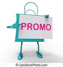 sac, promo, escompte, réduction, sauver, ou, spectacles