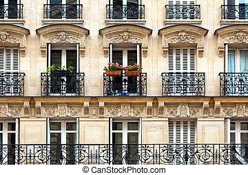sacadas, parisian